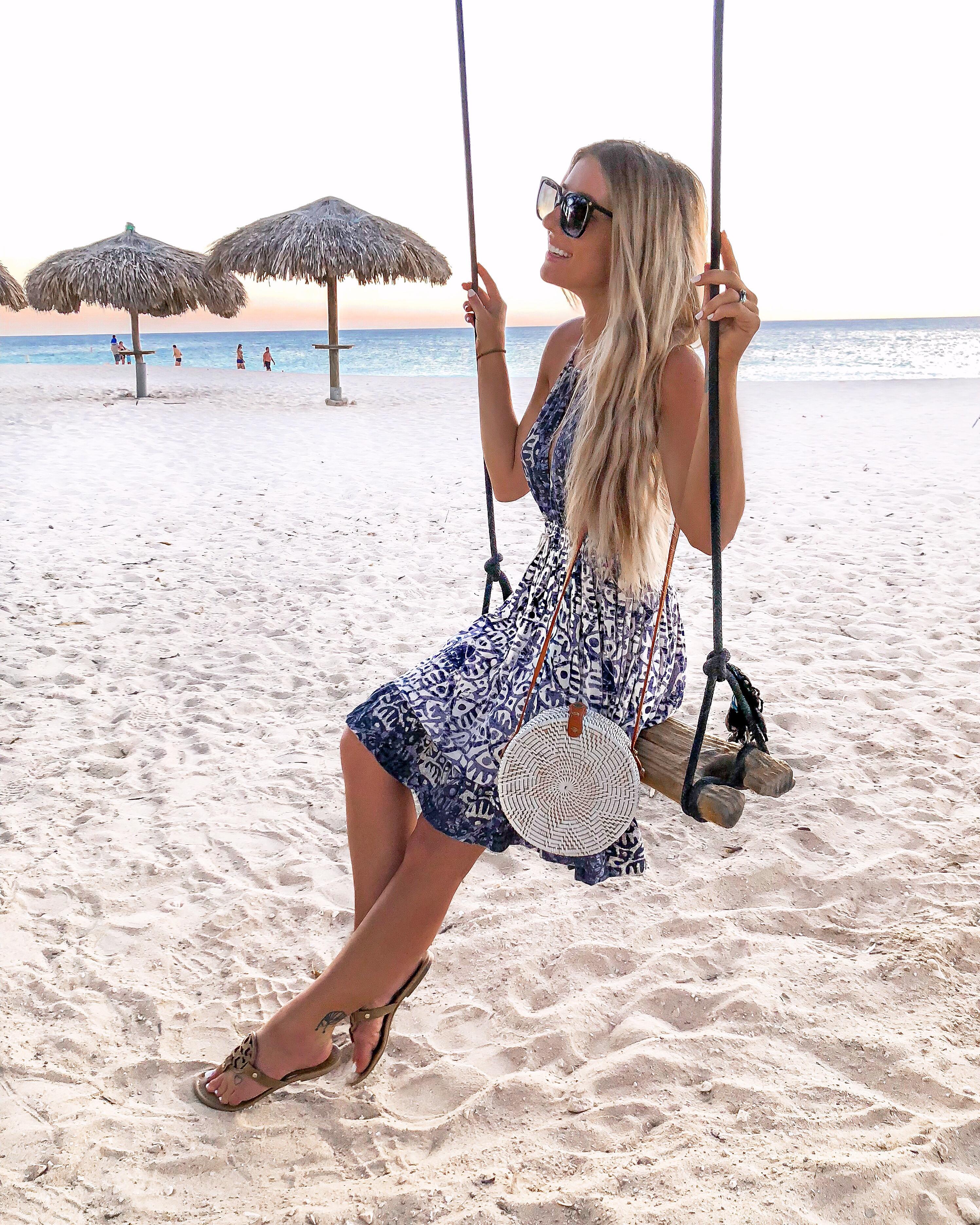 Free People Dress Aruba Travel Diary