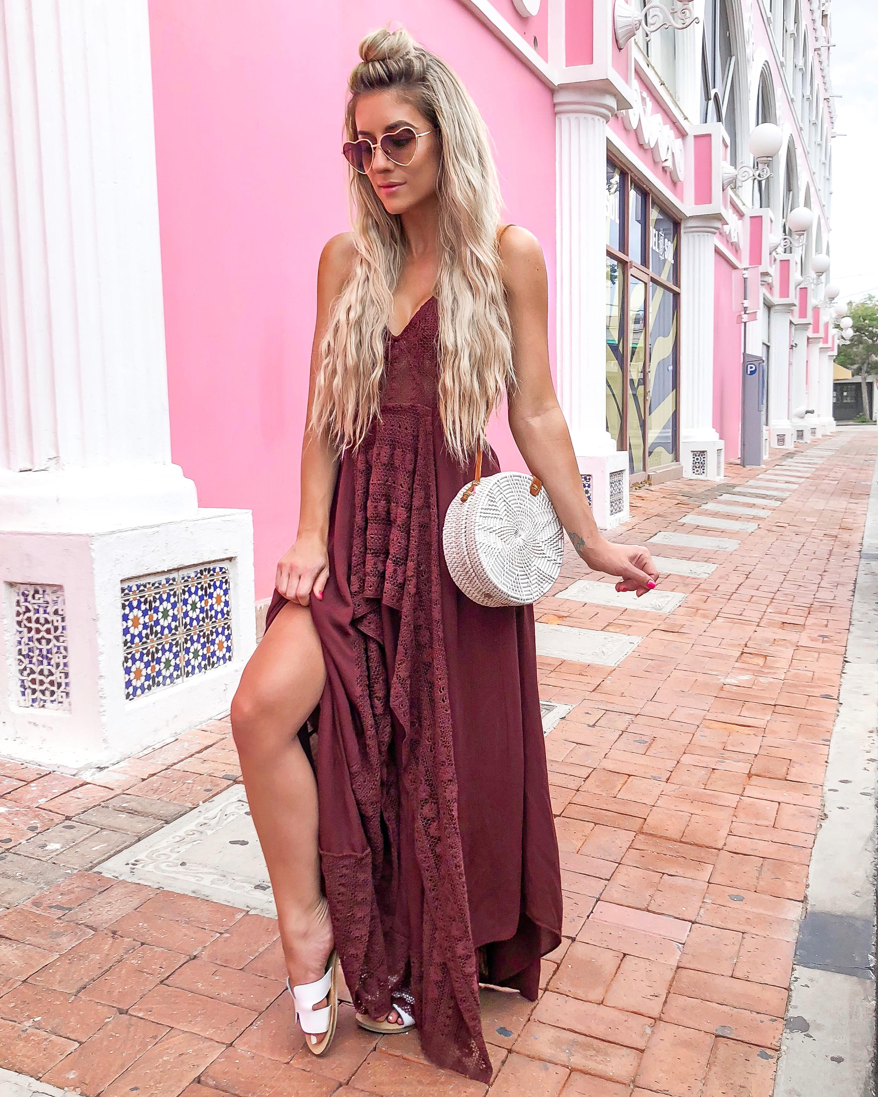 Free People Maxi Dress Aruba Travel guide