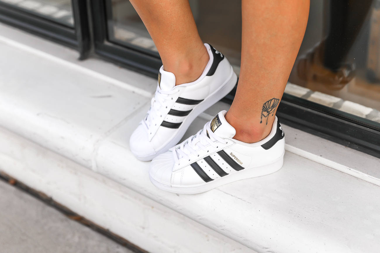 Adidas Originals Outfit Adidas Superstar black & white outfit