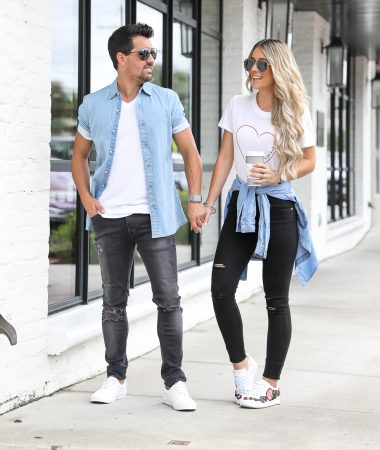 Couples casual outfit Nordstrom Topman Jeans Oxford Exchange Tampa
