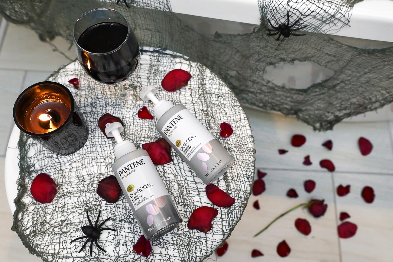 Pantene Charcoal Shampoo & Conditioner Bathtub Picture-4