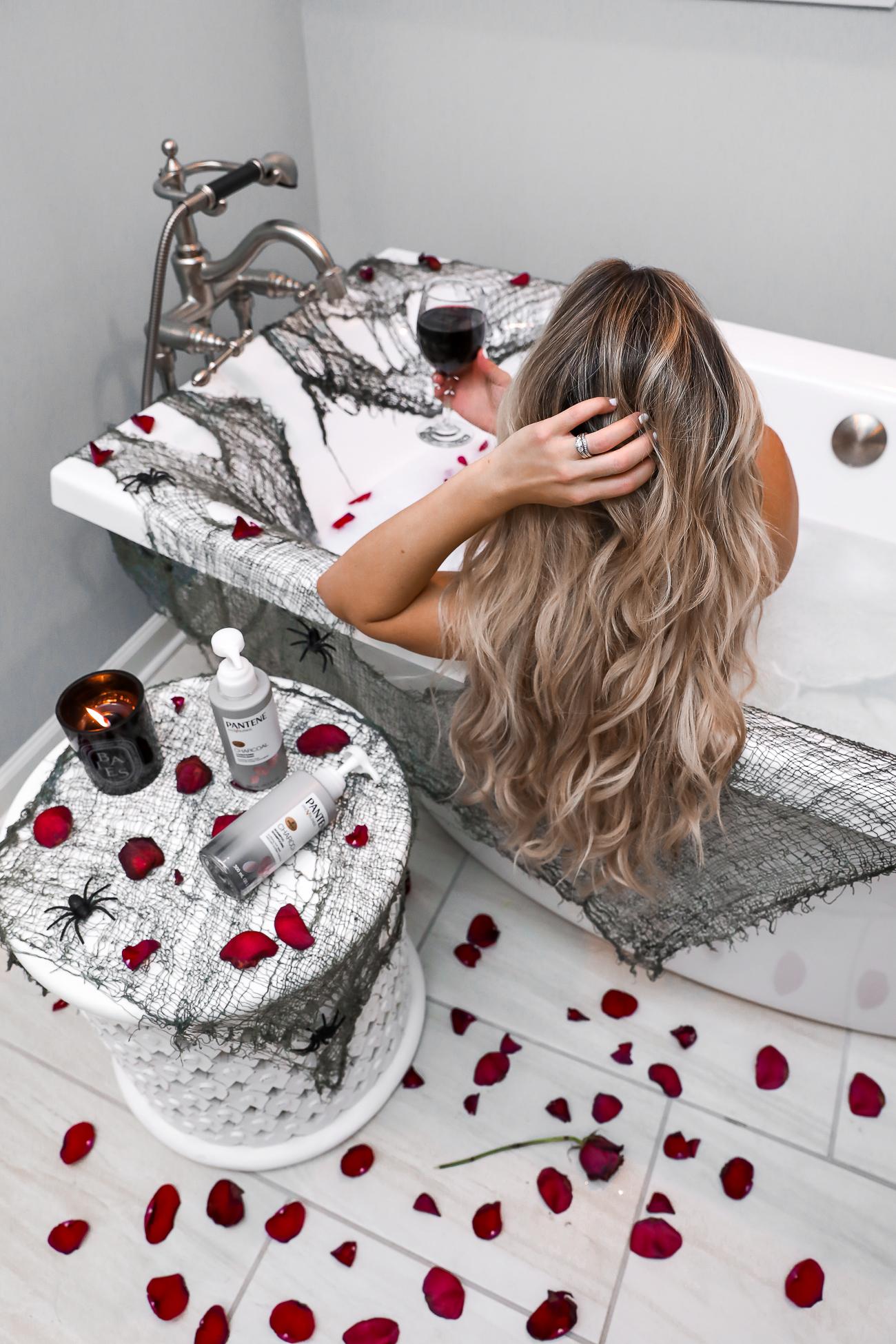 Pantene Charcoal Shampoo & Conditioner Bathtub Picture-9