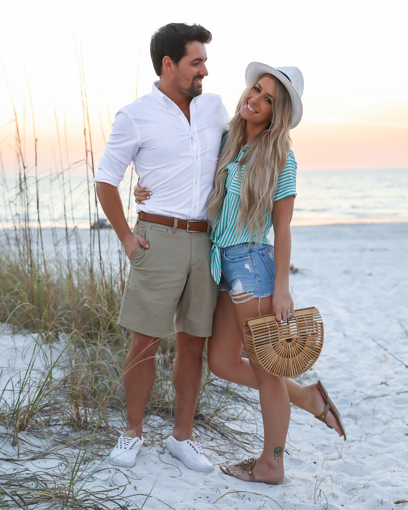 Beach Vacation outfit idea mens beach outfit his & hers couples vacation style Laura Beverlin -2