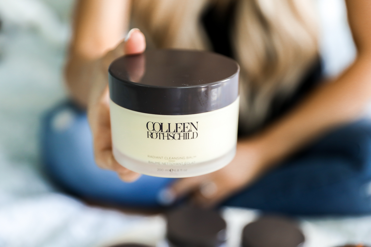 Colleen Rothschild Review skincare extreme recovery cream radiant cleaning balm restorative hand cream clarifying detox mask dual enzyme polish Laura Beverlin skincare routine-4