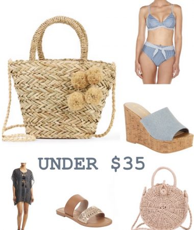 summer vacation outfit under $35 Laura Beverlin