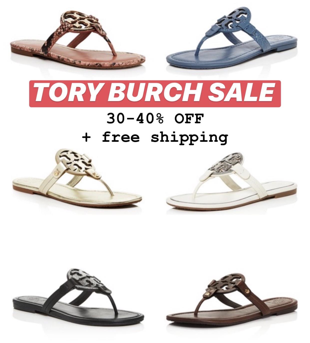 tory burch miller sale