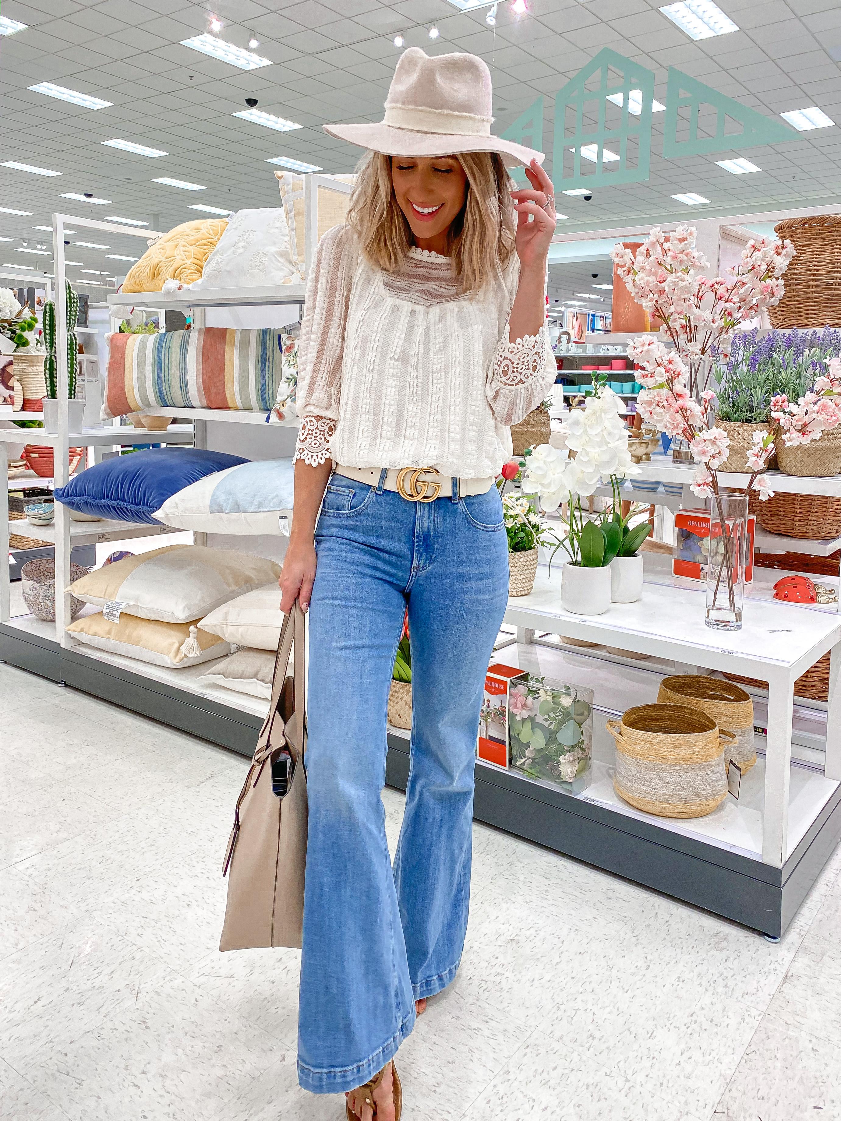 Laura Beverlin Boho Petite Spring outfit idea2