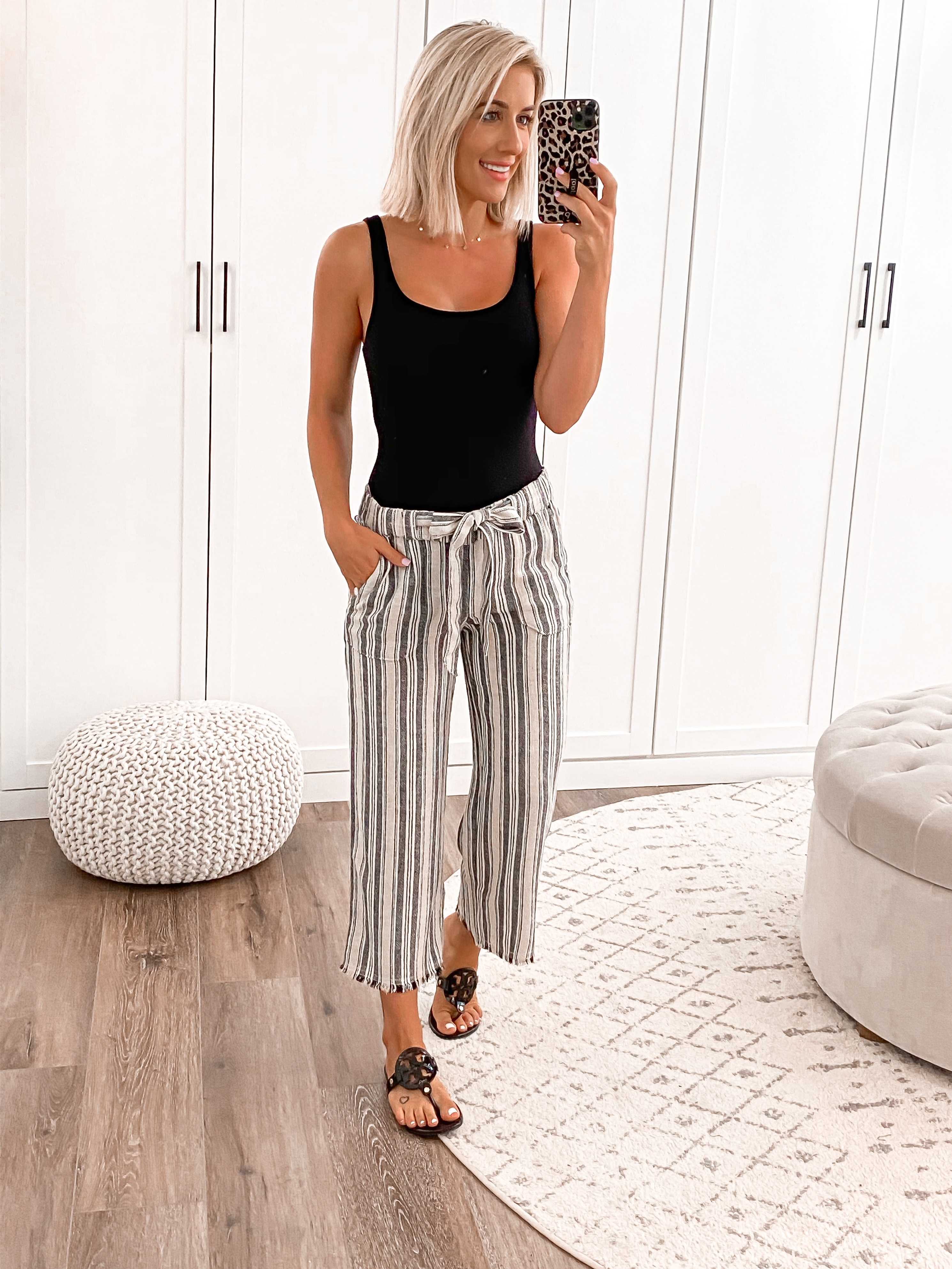 Laura Beverlin casual summer outfit idea nordstrom rack