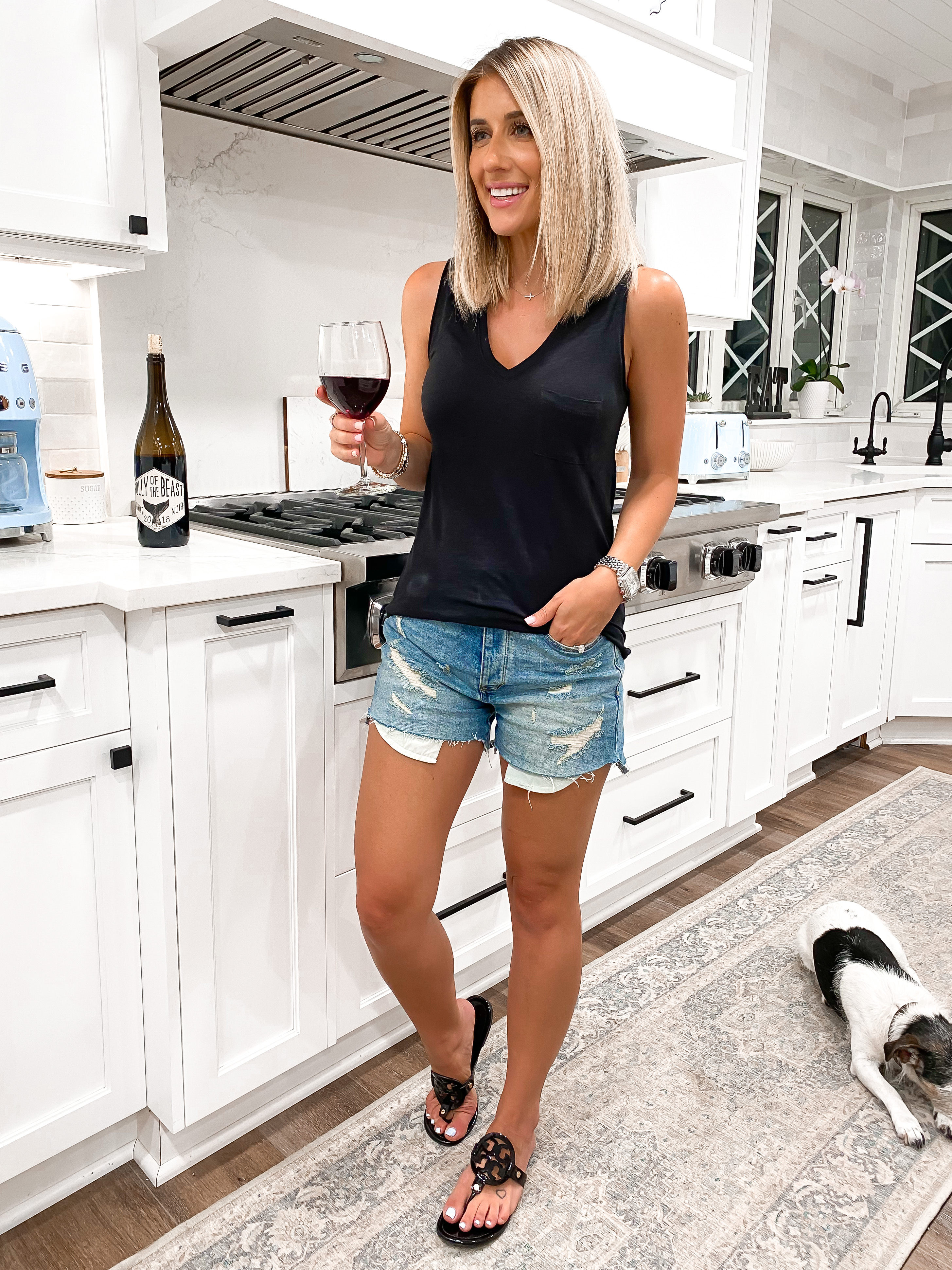 Laura Beverlin casual summer outfit idea nordstrom3