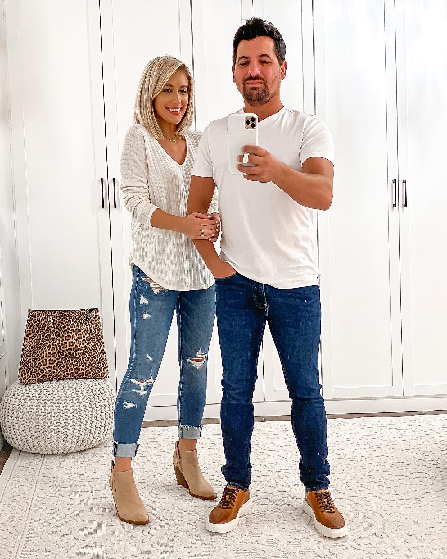 Casual HIS & HERS COUPLE Fall outfit Idea Laura Beverlin0