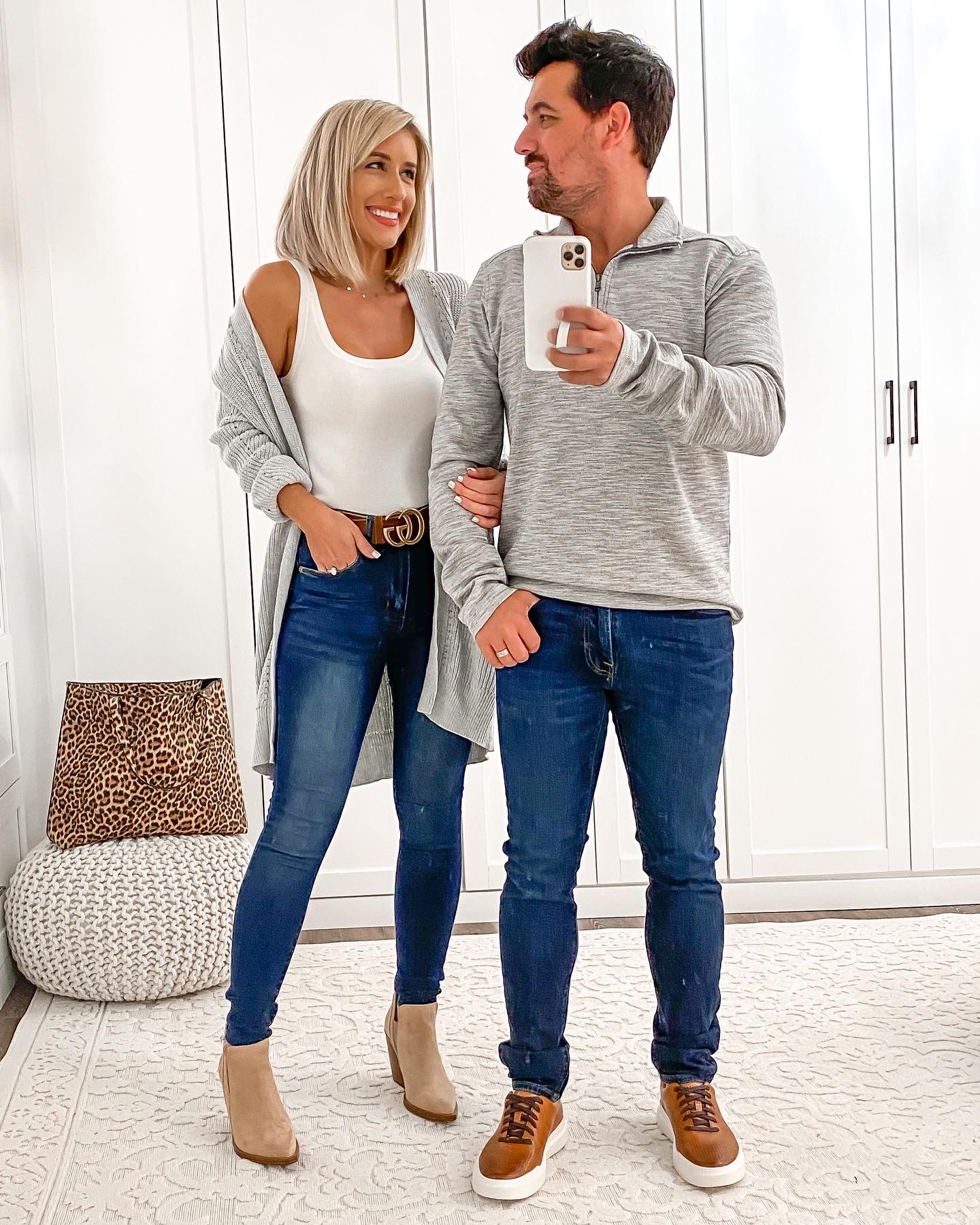 Casual HIS & HERS COUPLE Fall outfit Idea Laura Beverlin3