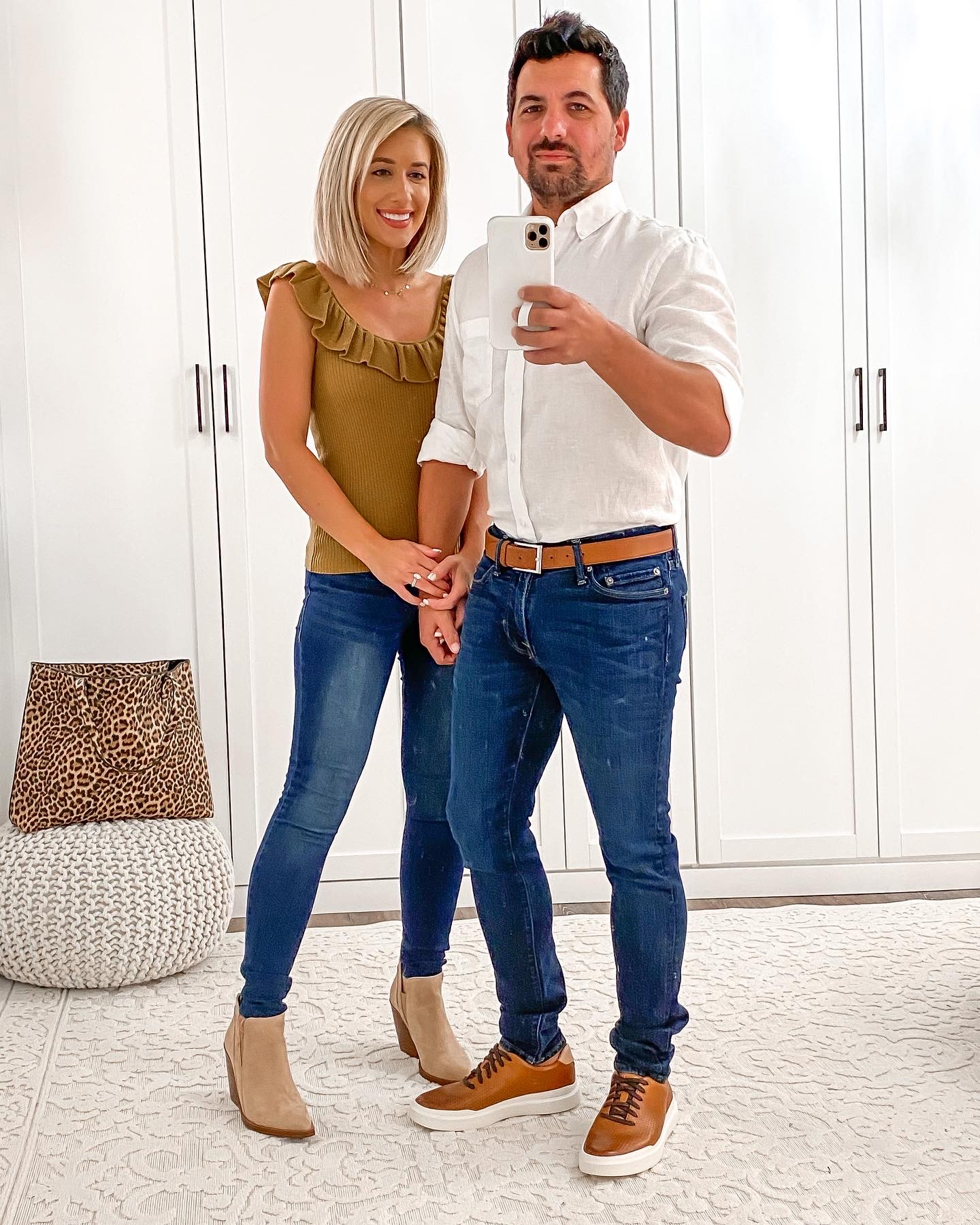 Casual HIS & HERS COUPLE Fall outfit Idea Laura Beverlin6