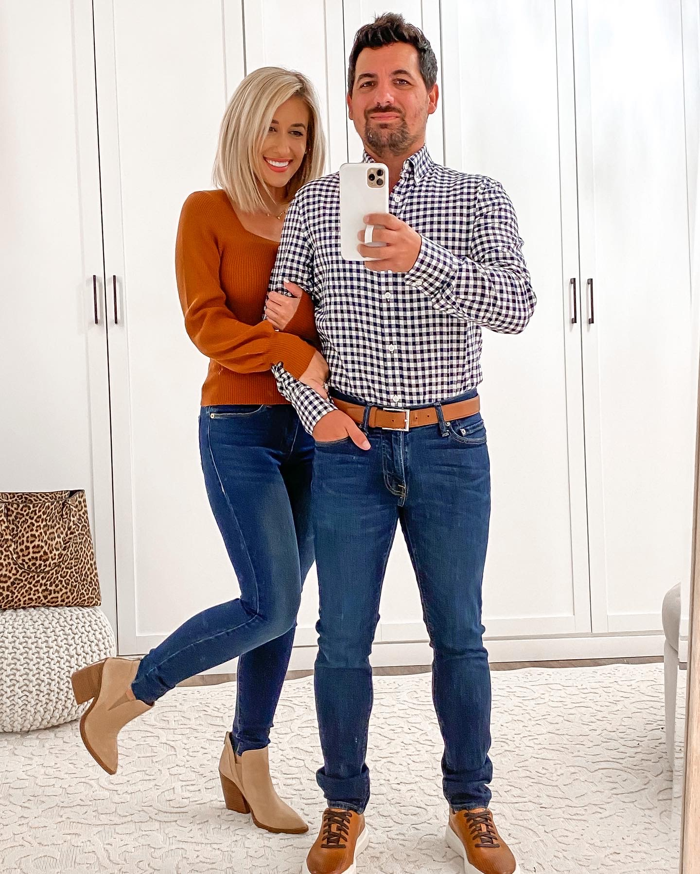 Casual HIS & HERS COUPLE Fall outfit Idea Laura Beverlin7