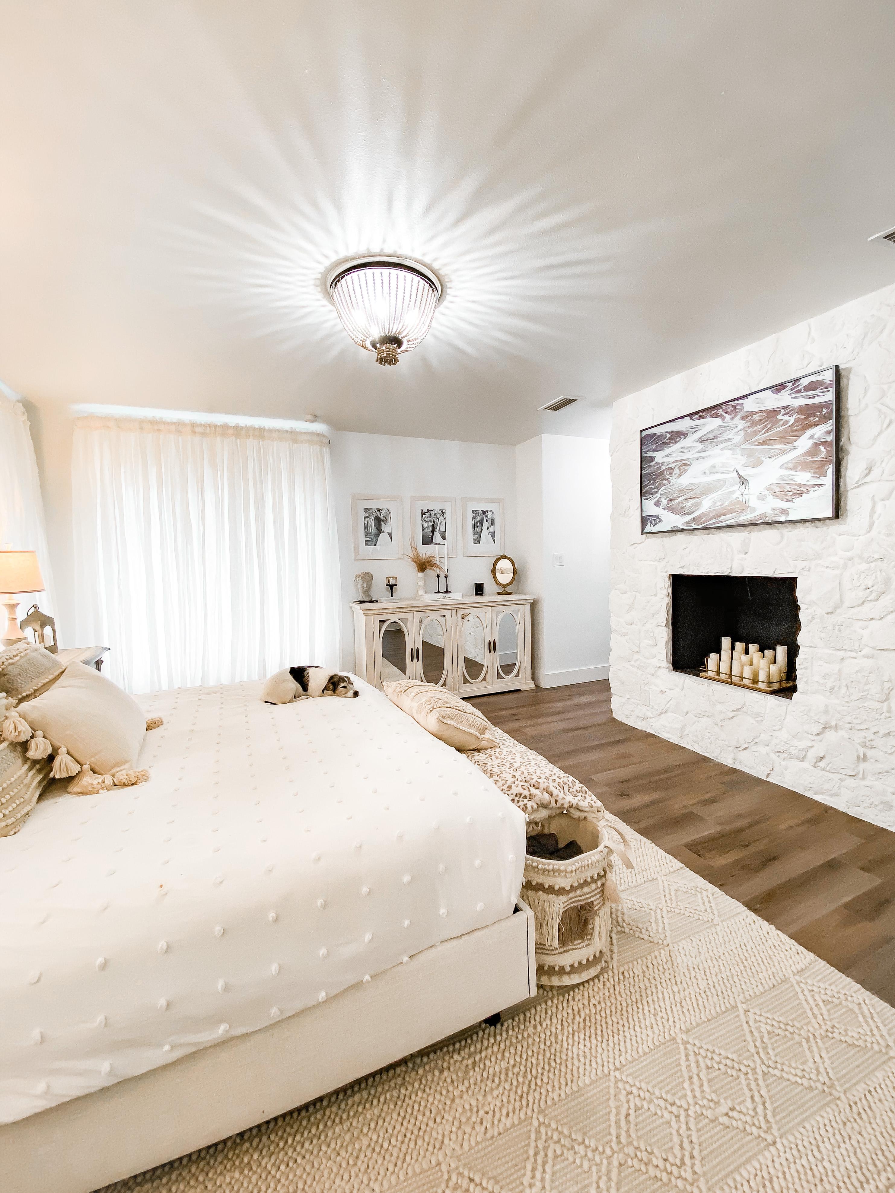 Laura Beverlin Neutral Master Bedroom honey 7