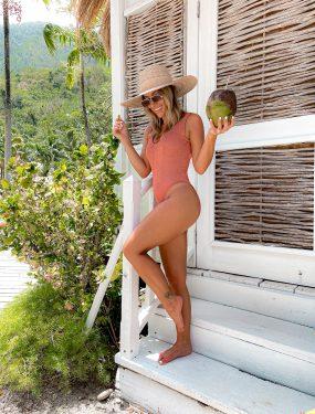 Laura Beverlin Sugar Beach St Lucia Summer Vacation Outfits